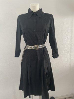 Montego Blusenkleid schwarz gr 38 Midi