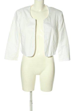 Montego Bolerko biały W stylu biznesowym