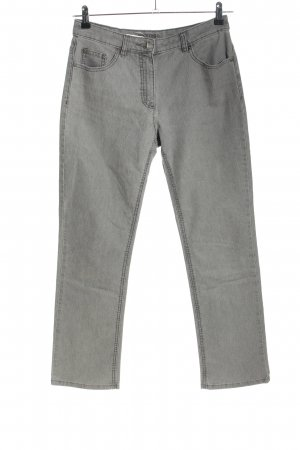 Montego Straight-Leg Jeans hellgrau Casual-Look