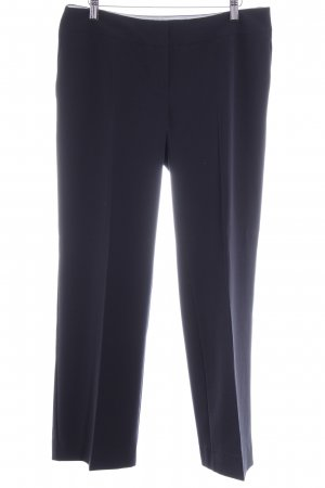 Montego Bundfaltenhose dunkelblau Business-Look