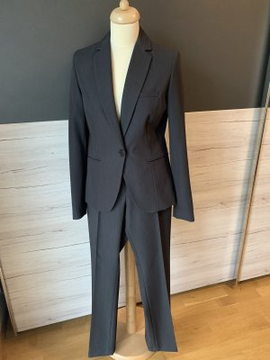 Montego Costume business gris anthracite polyester