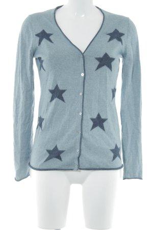 Montego Cardigan blassblau-dunkelblau Casual-Look