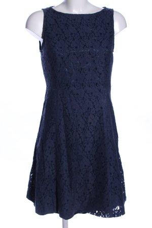 Montego Cocktailkleid blau Allover-Druck Elegant