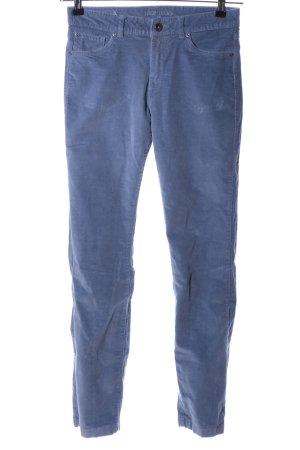 Montego Cordhose blau Casual-Look