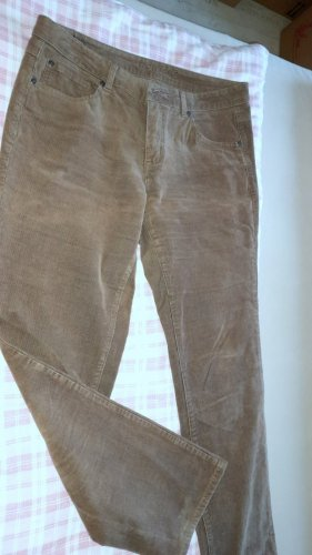 Montego Pantalone cinque tasche marrone chiaro-marrone Tessuto misto