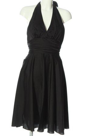 Montego Vestido cut out negro elegante