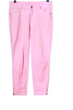 Montego Vijfzaksbroek roze casual uitstraling