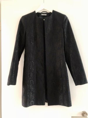 Montego Frock Coat black-silver-colored polyester