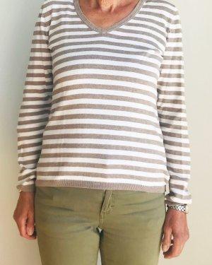 Montego gestreifter / geringelter Pullover