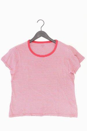 Montego gestreiftes Shirt rot Größe XXL