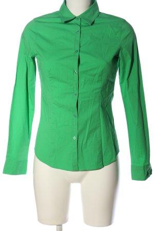 Montego Hemd-Bluse grün Casual-Look