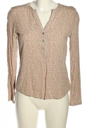 Montego Hemd-Bluse Allover-Druck Casual-Look