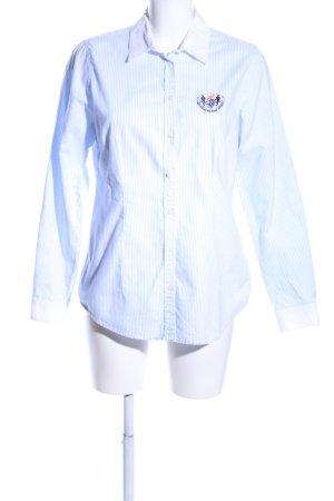 Montego Hemd-Bluse blau-weiß Streifenmuster Business-Look