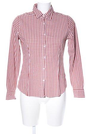 Montego Holzfällerhemd rot-weiß Karomuster Business-Look