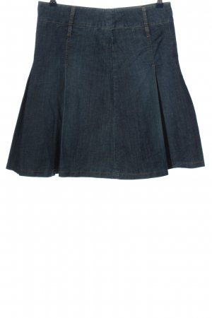 Montego Jeansrock blau Casual-Look