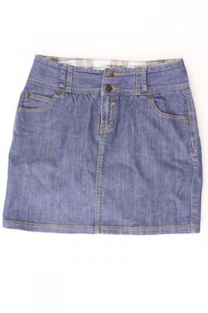 Montego Denim Skirt blue-neon blue-dark blue-azure cotton