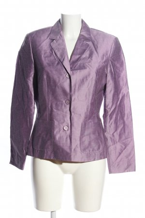 Montego Jerseyblazer lila meliert Business-Look