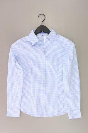 Montego Checked Blouse blue-neon blue-dark blue-azure cotton