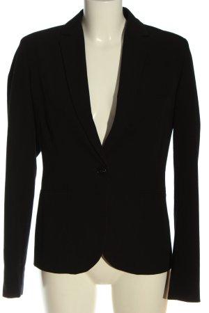 Montego Klassischer Blazer zwart zakelijke stijl