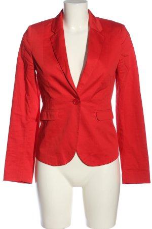 Montego Kurz-Blazer rot Casual-Look