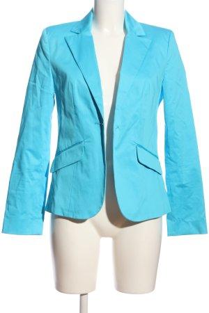 Montego Kurz-Blazer blau Business-Look