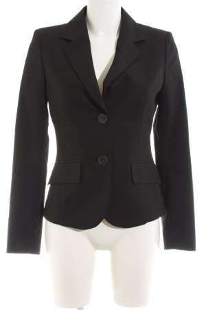 Montego Kurz-Blazer schwarz Business-Look