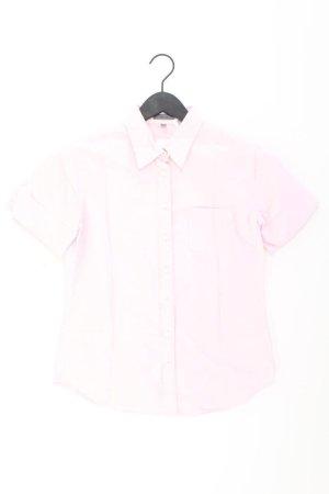 Montego Short Sleeved Blouse dusky pink-pink-light pink-pink cotton