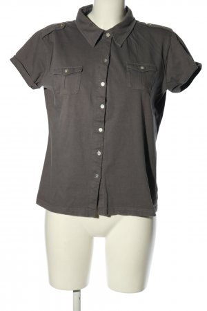 Montego Camisa de manga corta gris claro look casual