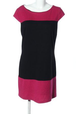 Montego Kurzarmkleid pink-schwarz Farbverlauf Casual-Look