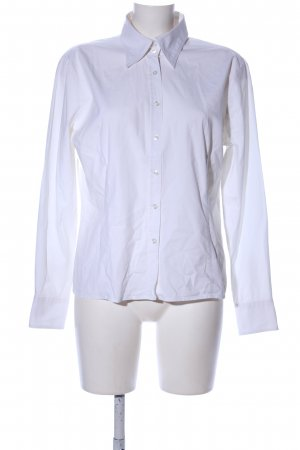 Montego Langarm-Bluse weiß Business-Look