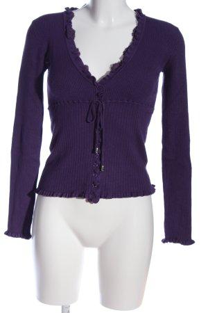 Montego Langarm-Bluse lila Casual-Look