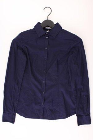 Montego Long Sleeve Blouse blue-neon blue-dark blue-azure