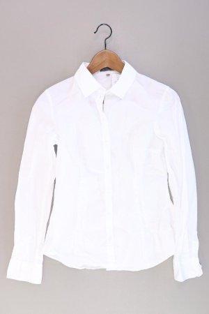 Montego Langarmbluse Größe 34 weiß aus Baumwolle