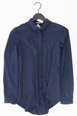 Montego Long Sleeve Blouse blue-neon blue-dark blue-azure polyester