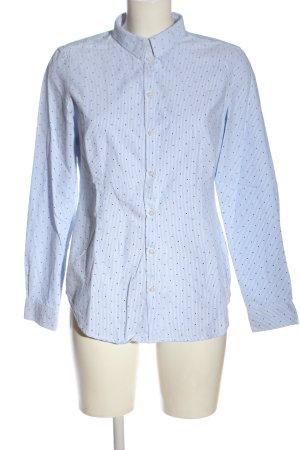 Montego Langarmhemd Punktemuster Casual-Look