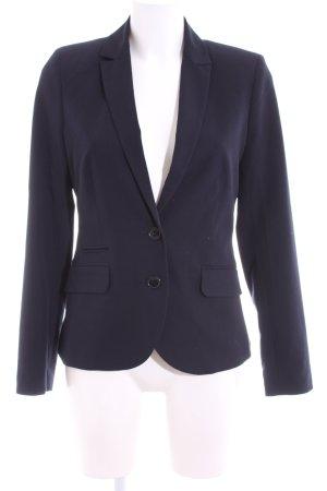 Montego Long-Blazer blau Business-Look