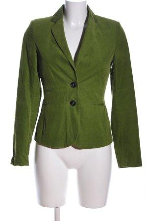 Montego Long-Blazer grün Casual-Look