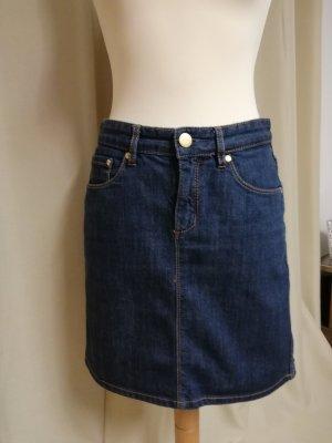 Montego Jupe en jeans bleu foncé