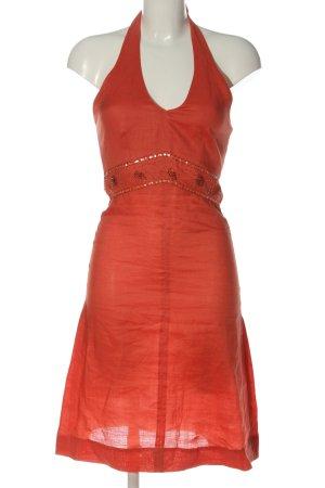 Montego Minikleid rot extravaganter Stil