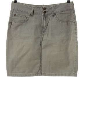 Montego Miniskirt light grey casual look