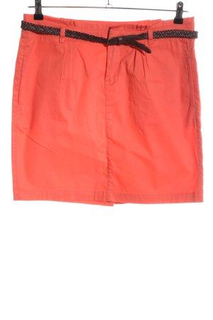 Montego Miniskirt light orange-black casual look