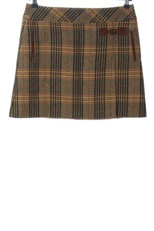 Montego Miniskirt brown allover print classic style