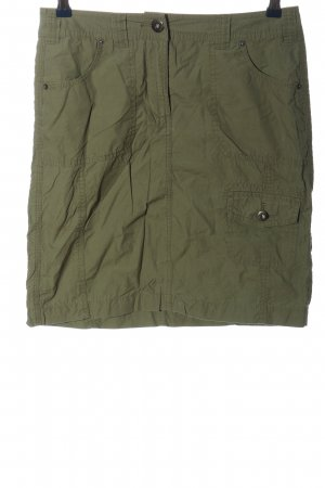 Montego Miniskirt khaki casual look