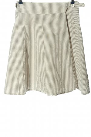Montego Miniskirt brown-natural white striped pattern casual look