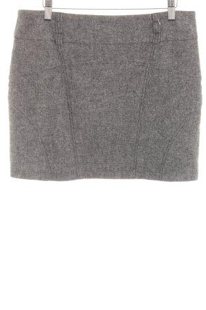 Montego Miniskirt black-grey flecked classic style