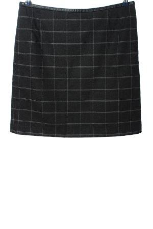 Montego Miniskirt black-white check pattern business style