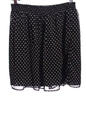 Montego Miniskirt black-natural white allover print casual look