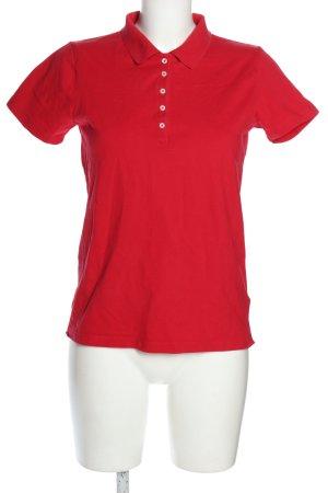 Montego Polo-Shirt rot Casual-Look