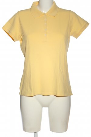 Montego Polo-Shirt blassgelb Casual-Look