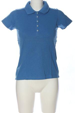 Montego Polo-Shirt blau Casual-Look